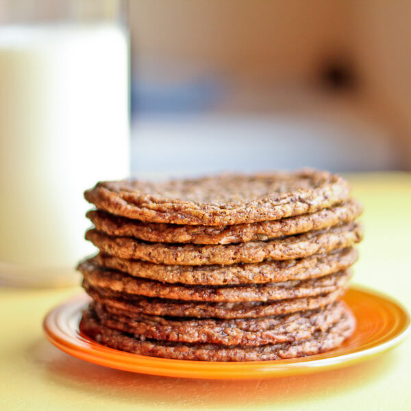 """""""Twisted Tollhouse"""" Shaved Chocolate Cookies"""