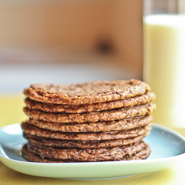 Twisted Tollhouse Cookies