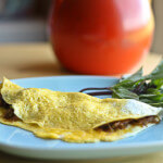 Thai Spring Roll Omelette made using OXO Egg Tools