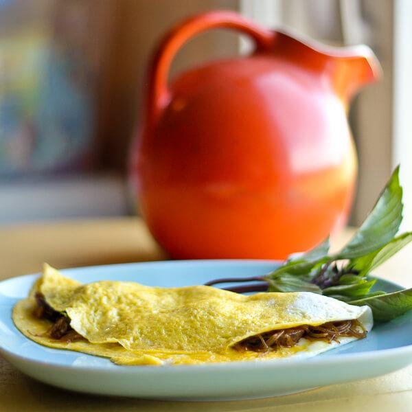 Thai Spring Roll Omelette