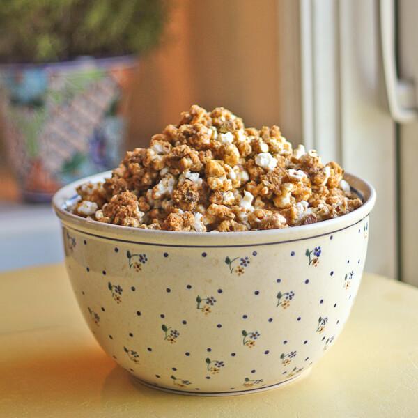 Garam Masala Caramel Corn