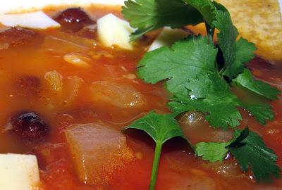 Oaxacan Tortilla Soup