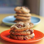 Snickers & MIlk Chocolate Chip Cookies