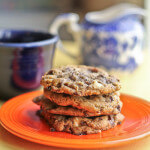 Double Chocolate Chip & Cappuccino Crunch Cookies