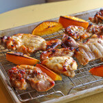 Orange Honey Glazed Chicken Thighs