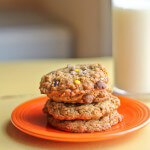 Gluten Free Chocolate Chip Peanut Butter Cookies with Oats