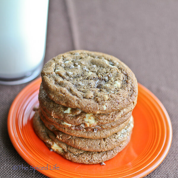 Espresso White Chocolate Chunk Cookies