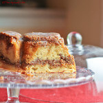 Spiced Apple Bundt Cake Layered with Pecan Streusel