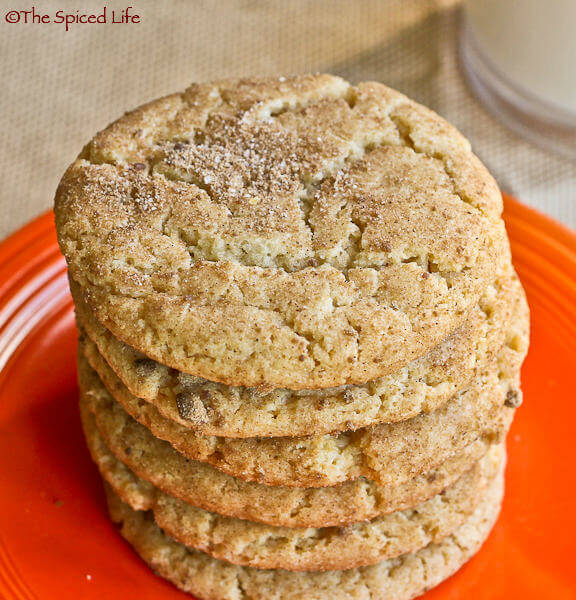 Snickerdoodles sweetened with maple