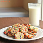 Halloween Sprinkled Slice-and-Bake Cookies; Review of 250 Best Cookies