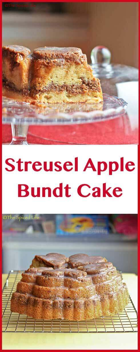 Streusel Apple Bundt Cake