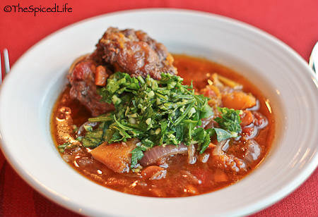 Braised Oxtails with Warm Spices and Gremolata