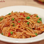 Spanish Pork and Fideo Noodles Cazuela (Stovetop Casserole)