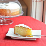Italian Paradise Cake with lemon and vanilla