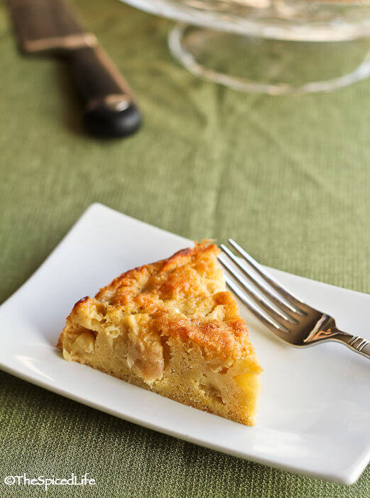 Apple Cake from northern France