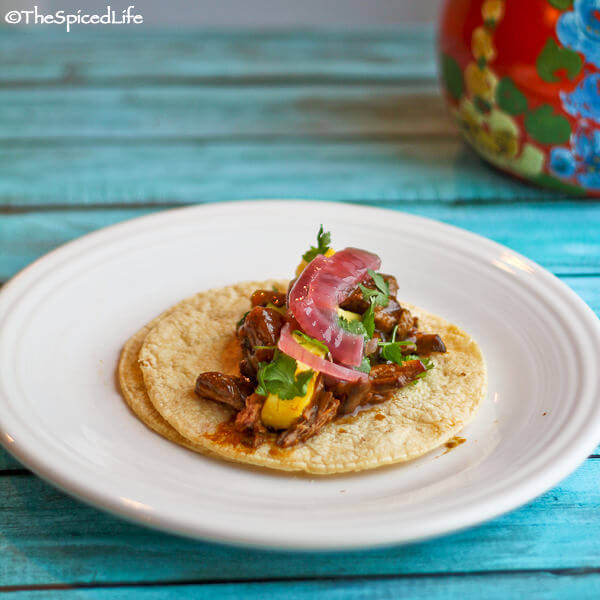 Slow Cooker Beef and Pineapple in Colima Style Mole