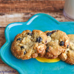Blueberry Lemon Cookies with White Chocolate Chunks: #CreativeCookieExchange