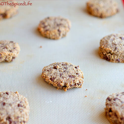 Gluten Free Hazelnut Cookies with Miniature Chocolate Chips