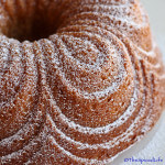 Super Simple Cream Bundt Cake Infused with Saffron and Tahitian Vanilla
