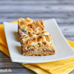 S'Mores Bars with M&Ms and Graham Cereal