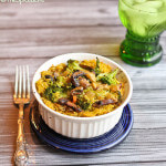 Curried Chicken Casserole with Broccoli, Rice and Mushrooms: Alex Cooks!