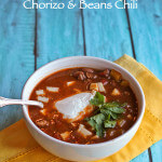 Chili with Mexican Pot Beans and Chorizo