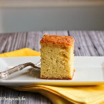 Yogurt and Bourbon Whiskey Poke Cake