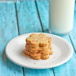 Lebanese Pistachio Cookies with Orange Blossom Water: The Lebanese Kitchen: #CreativeCookieExchange