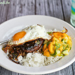 Loco Moco with Mango-Cucumber Relish: Man Made Meals Reviewed
