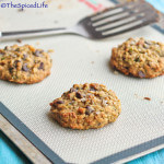 Chocolate Chip Cookies with Almonds and Zucchini