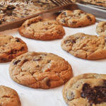 Chocolate Chip Cookies made with an Assortment of Chocolate--don't let lack a lack of chocolate chips stop you from making this cookies!
