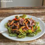 Steak Salad with Romesco Dressing