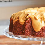 Butterscotch Pecan Bundt Cake with Salted Caramelized White Chocolate Glaze