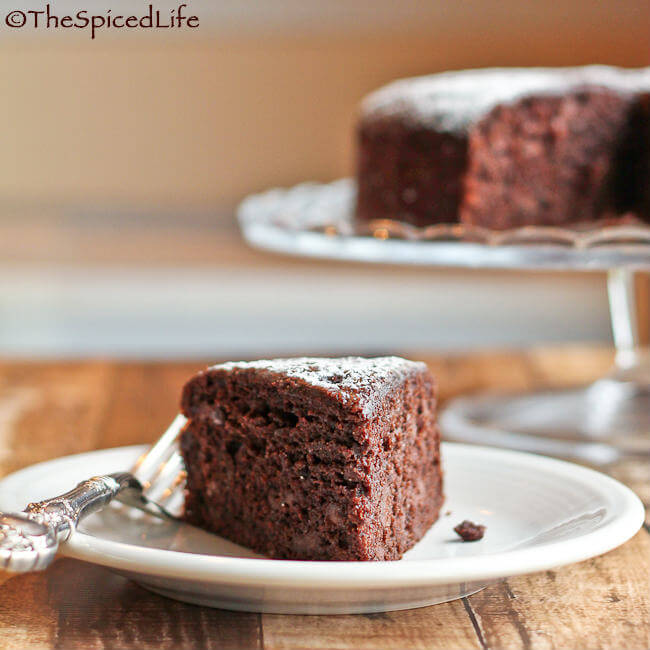 Dark Chocolate Olive Oil Cake