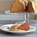 Irish Coffee Bundt Cake with Browned Butter Whiskey Glaze