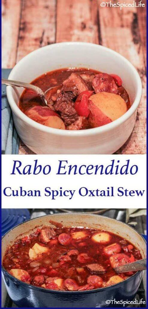 Cuban Spicy Oxtail Stew (Rabo Encendido)