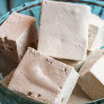Salted Maple Bourbon Marshmallows