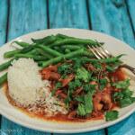 Vietnamese Caramel Chicken and Mushrooms: Review of The Slanted Door