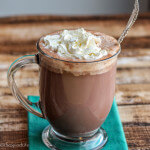 Hot Chocolate from Scratch--made with basic ingredients out of any baker's pantry!