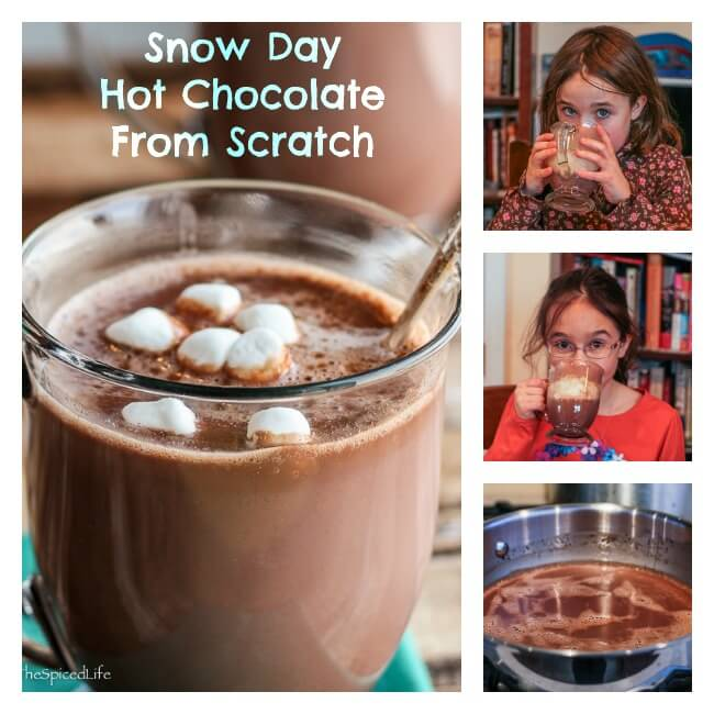 Hot Chocolate from Scratch: rich, creamy and easy to make with basic pantry ingredients!