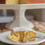 Lime Poke Cake: super easy snacking cake for citrus lovers!