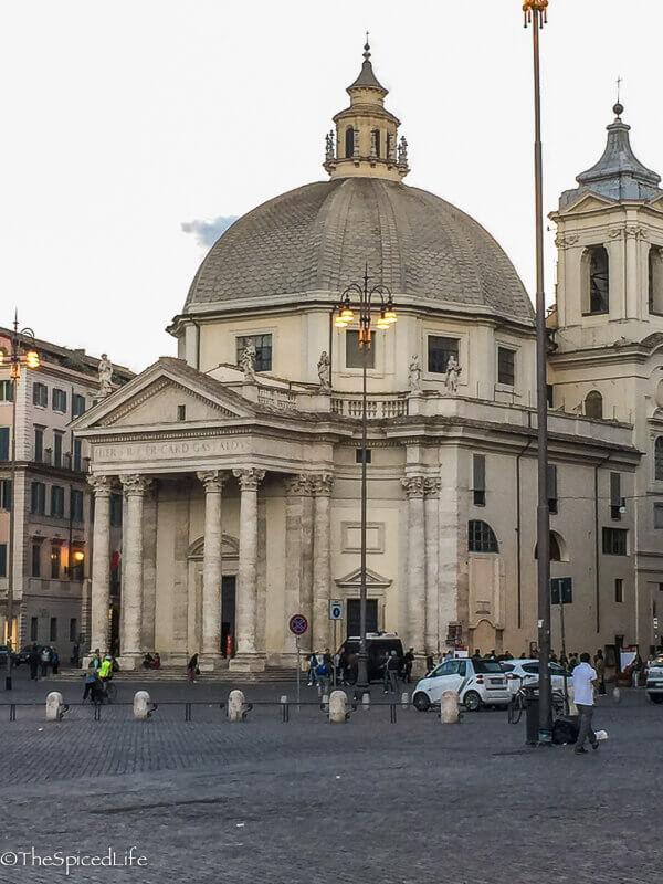 Santa Maria di Montesanto, Piazza del Popolo, Rome