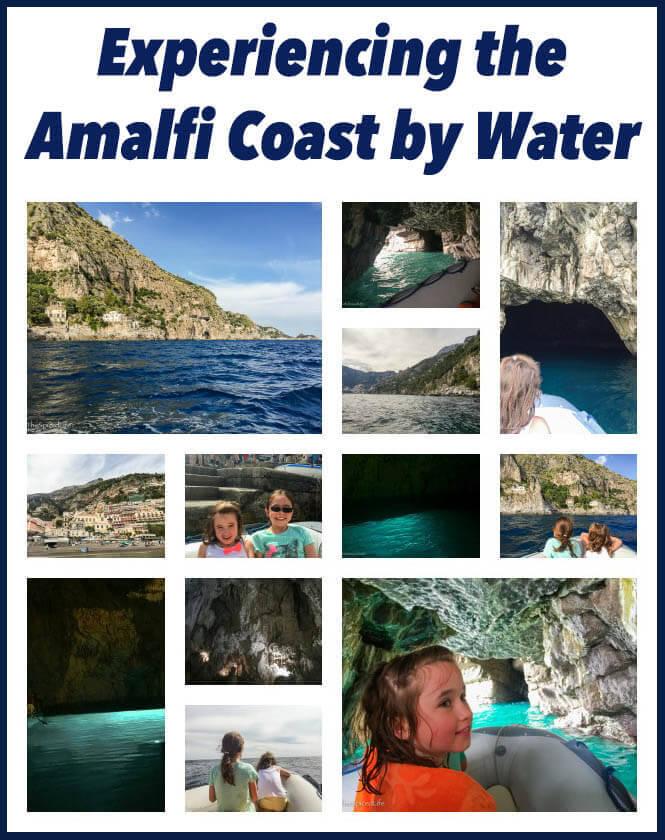 Amalfi Coast by water