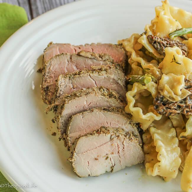 Porchetta Marinated Pork Tenderloin: easy and so delicious!