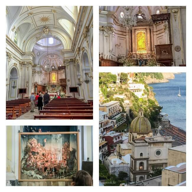 The Church of St Maria Assunta in Positano