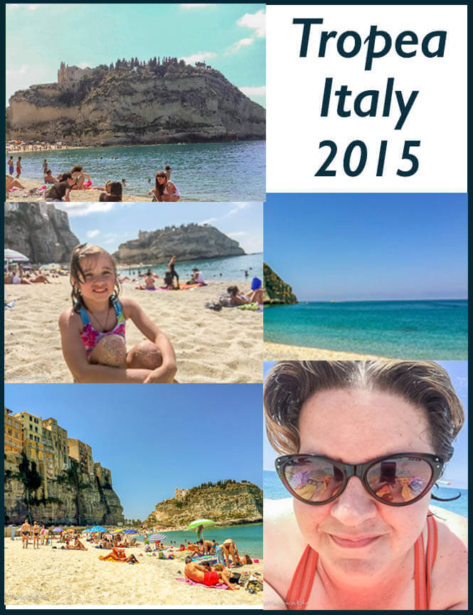Beach Scenes from Tropea, Italy