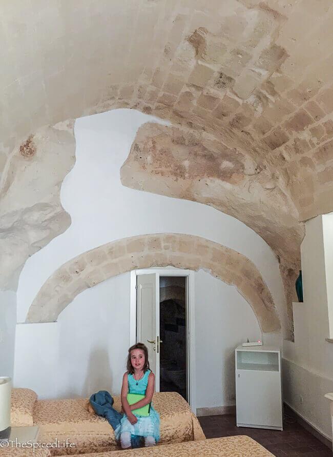 hotel room in Sassi di Matera