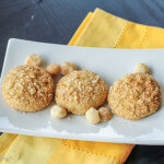 Browned Butter Lemon Cookies with Macadamia Nuts: #CreativeCookieExchange