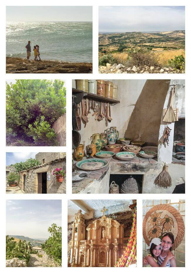 Touring Sicily Collage