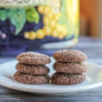 Chewy Chocolate Cookies: an old-fashioned but intensely chocolate cookie perfect for after school or dinner!